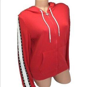 New Victoria's Secret PINK full zip hoodie S NWT
